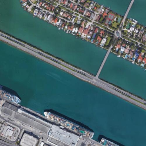 macarthur causeway in miami beach, fl (google maps)