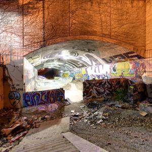 Leeside Tunnel Skatepark (StreetView)