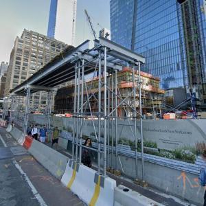 50 Hudson Yards under construction (StreetView)