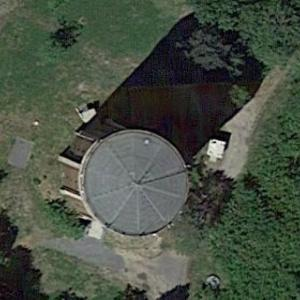Lauchhammer water tower (Google Maps)
