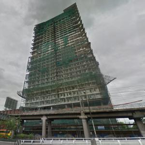 'AMA Tower' by Perkins and Will under construction (StreetView)