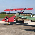 """The Red Baron's"" Fokker Dr.I replica"