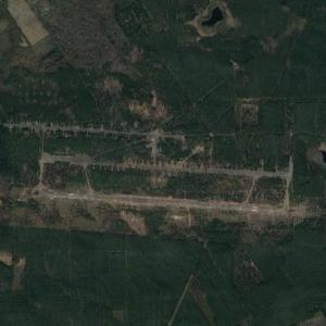 Remains of a Soviet Sperenberg Air Base (Google Maps)