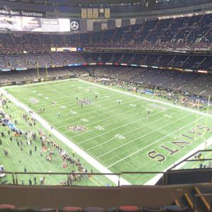 Saints game at the Superdome (StreetView)
