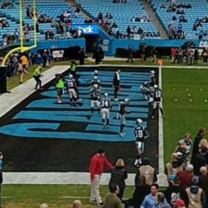 Panthers vs Buccaneers, Bank of America Field, Pre-Game (StreetView)