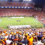 Football game at Jordan-Hare Stadium