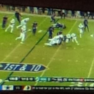 Dallas Cowboys Game on TV (StreetView)