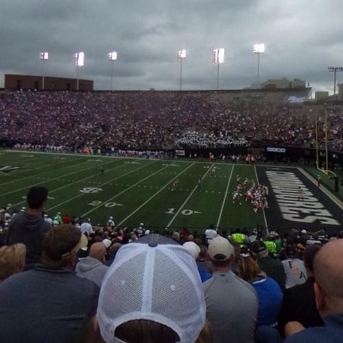 0118087b Football game at Vanderbilt Stadium in Nashville, TN (Google Maps)