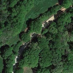 "Rick on horseback on way to cabin (""The Walking Dead"") (Google Maps)"