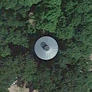 Perleberg water tower (Google Maps)