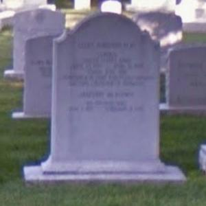 General Lucius D. Clay's grave at West Point (StreetView)