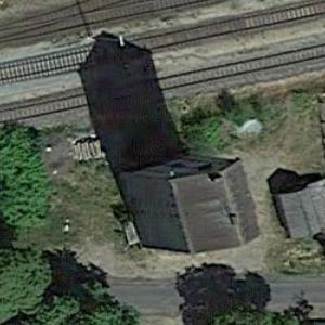 Pritzwalk railway water tower (Google Maps)