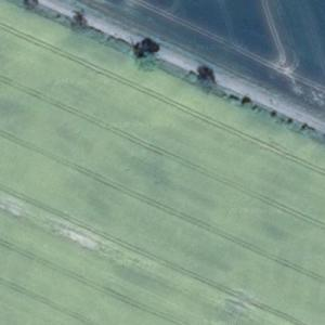 Polish Air Force MiG-29 crash site (Google Maps)