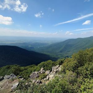 View from Hawksbill Mountain (StreetView)