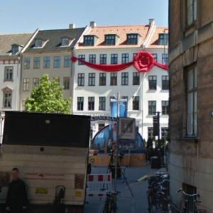 Scientology Church opening preparations in Copenhagen (StreetView)
