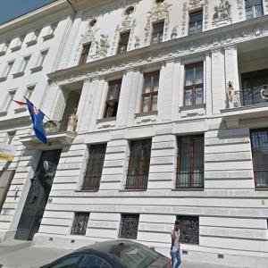 Embassy of Croatia, Vienna (StreetView)