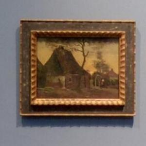 """Cottage with Trees"" by Vincent van Gogh (StreetView)"