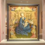 """Madonna of the Rose Bower"" by Stefan Lochner"