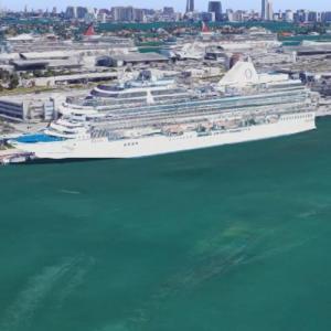 Oceania MS Riviera (Google Maps)
