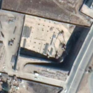 Via Dorada under construction (Google Maps)