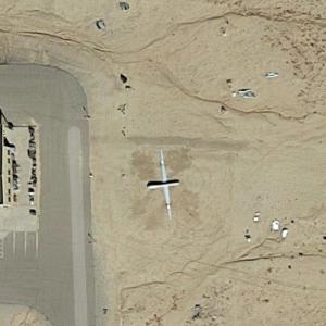 MQ-1 at USAF Safety Crash Lab at Kirtland AFB, NM (Google Maps)