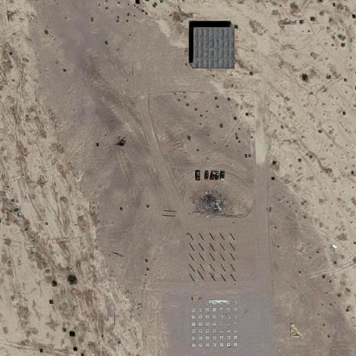 Bombing Target At Yuma Proving Ground Ca In Yuma Az