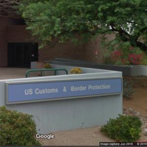U.S. Customs & Border Patrol Tuscon, AZ (StreetView)