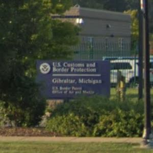 U.S. Customs and Border Protection Gibraltar, Michigan (StreetView)