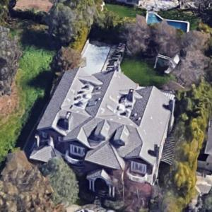 Jennifer Garner's House (Google Maps)