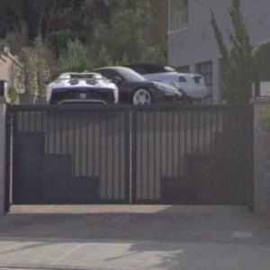 Chris Brown's Lamborghini, Porsche, & Rolls Royce (StreetView)
