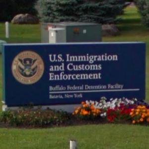 ICE Migrant Detention Center in Batavia, NY (StreetView)