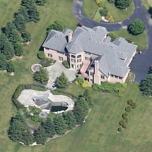Carson Palmer S House Former In Cincinnati Oh Google Maps 2