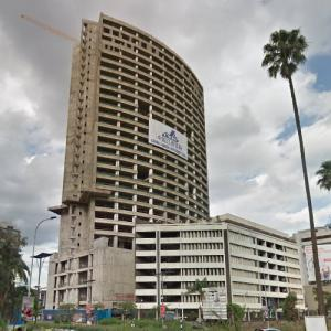 Parliament Tower under construction (StreetView)
