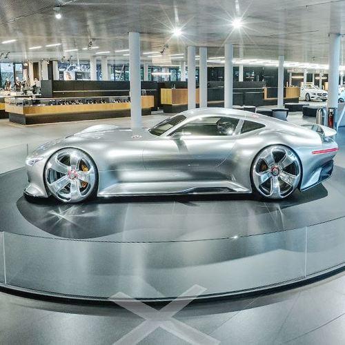 Mercedes-Benz AMG Vision Gran Turismo in Sindelfingen