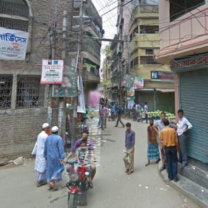 2019 Dhaka fire (StreetView)