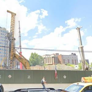 'Queens Plaza Park' by Handel Architects under construction (StreetView)