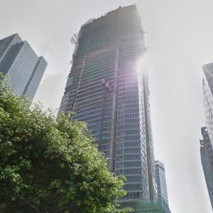 'The Suites at One Bonifacio High Street' by Handel Architects under construction (StreetView)