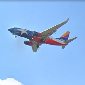 """Southwest Airlines Boeing 737-7H4 """"Lone Star One"""" [N931WN] (StreetView)"""