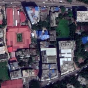 'Asian University for Women' by Moshe Safdie (Google Maps)