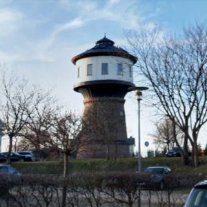 Gohren water tower (StreetView)