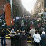 Demonstration against water charges in Dublin