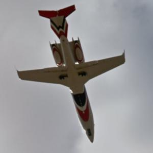 Red White Blue Airplane (StreetView)