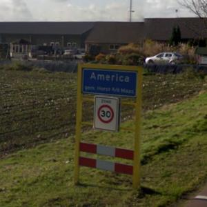 America, a city in the Netherlands (StreetView)
