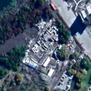 Nueva Puntilla Villarrica under construction (Google Maps)