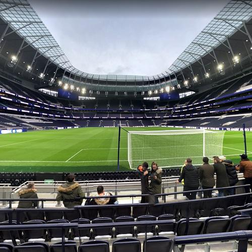 Inside Tottenham Hotspur Stadium In London United Kingdom Google Maps