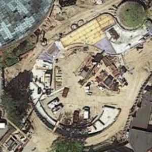 Copenhagen Zoo new Giant Panda area (under construction) (Google Maps)