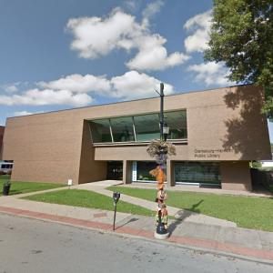 'Clarksburg Harrison Public Library' by Marcel Breuer and Hamilton Smith (StreetView)
