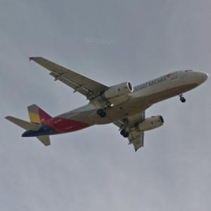 Asiana Airlines Airbus A320-232 [HL7776] (StreetView)