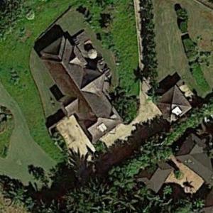 Carlos Santana's House (Google Maps)