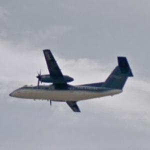 Nav Canada DHC-8-100 Flight Inspection Airplane [C-GCFK] (StreetView)